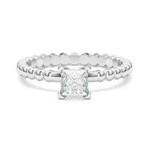 טבעת אירוסין דגם פרינסס