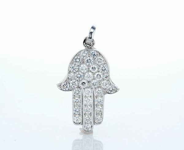 שרשרת יהלומים Hamsa